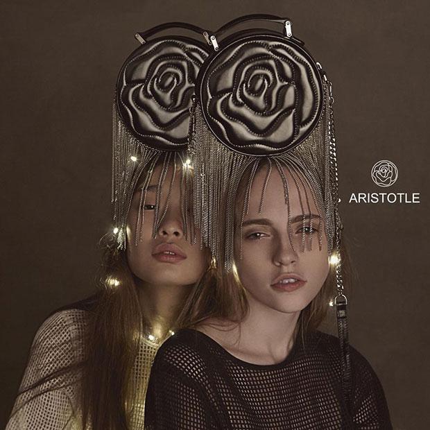 กระเป๋าแฟชั่น Aristotle Rose Bag - Fringie