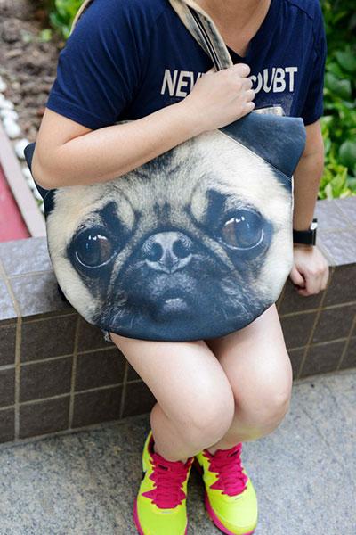กระเป๋า หมาปั๊ก