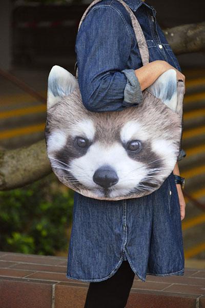 กระเป๋ารูปสัตว์ แพนด้าแดง