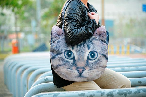 กระเป๋า แมวน้ำตาล