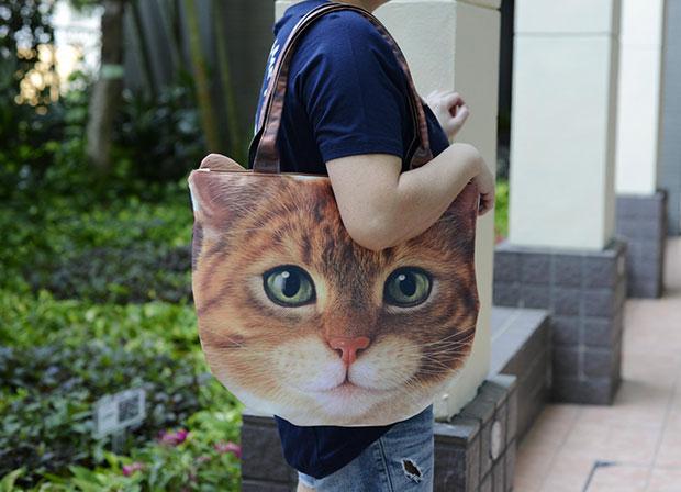 กระเป๋า แมวส้ม