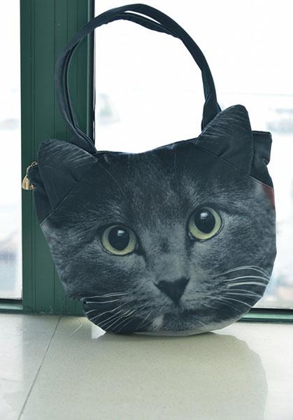 กระเป๋า แมวเทาดำ