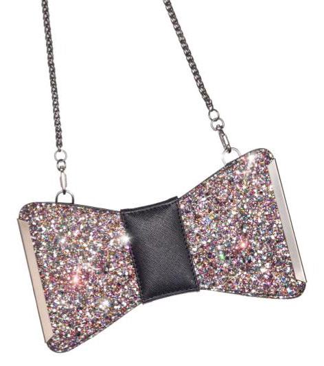 กระเป๋า Aristotle Bow Bag - Glitter - Starry Night