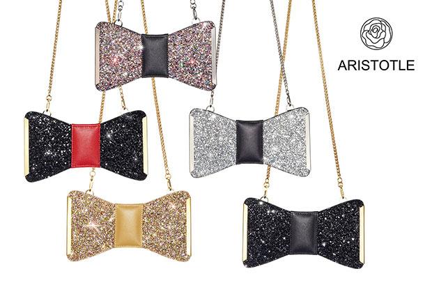 กระเป๋า Aristotle Bow Bag - Glitter