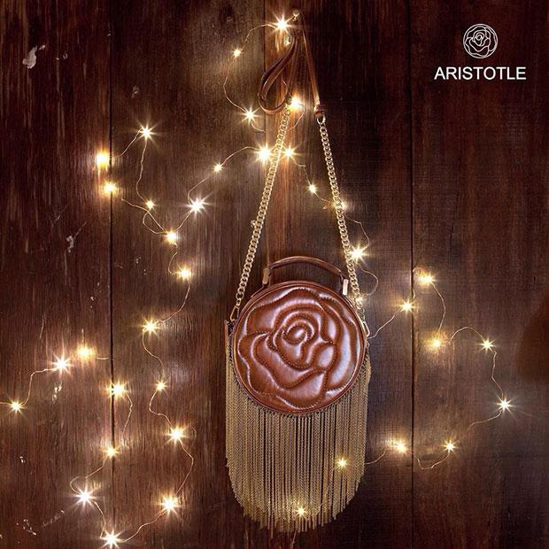 กระเป๋า Aristotle Rose Bag - Fringie - สีน้ำตาล