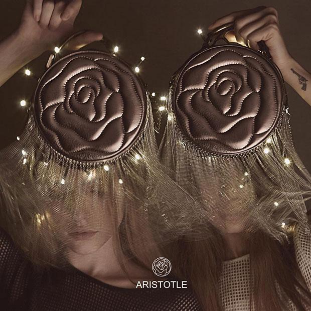 กระเป๋า Fringie - Aristotle Rose Bag