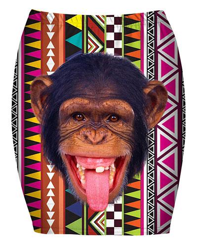 กระโปรงแฟชั่น ลิง