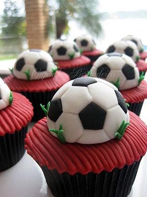 คัพเค้ก ลูกฟุตบอล