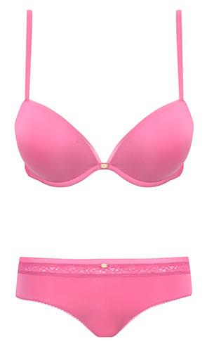 ชุดชั้นใน Calvin Klein Naked Glamour Add A Size Plus สีชมพู