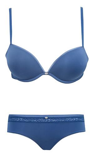 ชุดชั้นใน Calvin Klein Naked Glamour Add A Size Plus สีน้ำเงิน