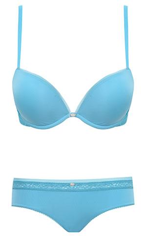 ชุดชั้นใน Calvin Klein Naked Glamour Add A Size Plus สีฟ้า