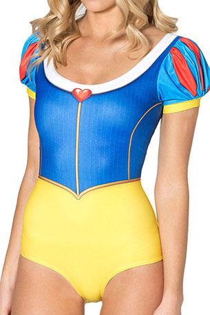 ชุดว่ายน้ำแฟชั่น Snow White