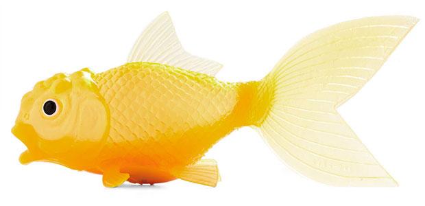 ของใช้ในห้องน้ำ ตุ๊กตาปลา ลอยน้ำ
