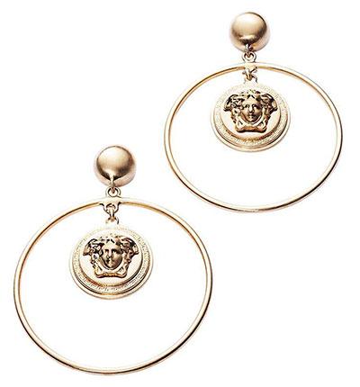 ต่างหู Versace วงแหวน