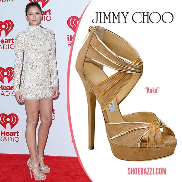 รองเท้า Jimmy Choo - Nina Dobrev