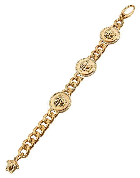 สร้อยข้อมือ Versace สีทอง