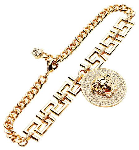 สร้อยคอ Versace ทอง