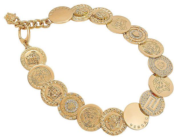สร้อยคอ Versace เหรียญ สีทอง