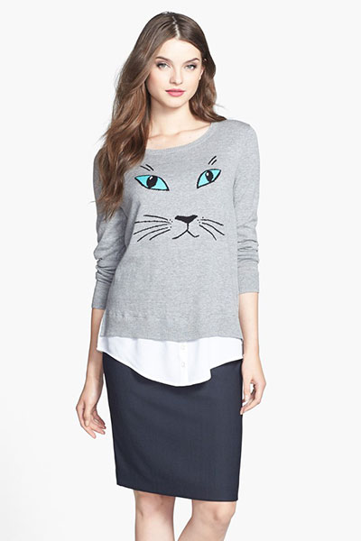 สเวตเตอร์ หน้าแมว