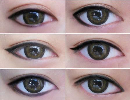 อายไลเนอร์ เปลี่ยนรูปทรงดวงตา