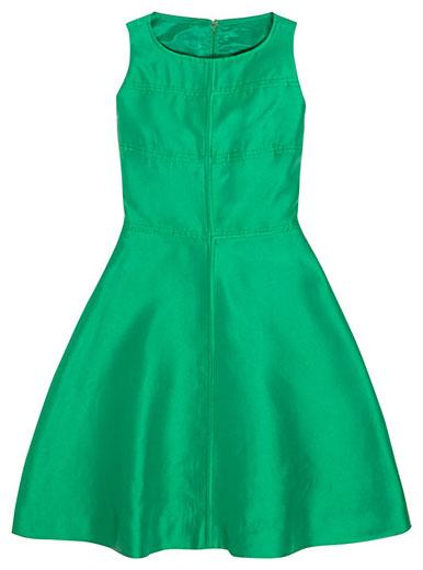 เดรสแฟชั่นสีเขียว Louise Feraud