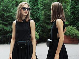 เดรส H&M Trend, กระเป๋า Parfois, รองเท้า Steve Madden, แว่นตากันแดด Dolce&Gabbana