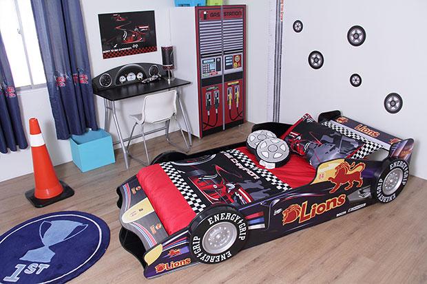 เตียงนอนเด็ก รถแข่ง