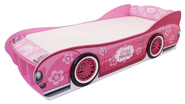 เตียงนอนเด็ก รถ เจ้าหญิง