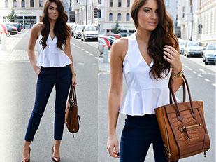 เสื้อ Zara, กางเกง Zara, กระเป๋า Aldo