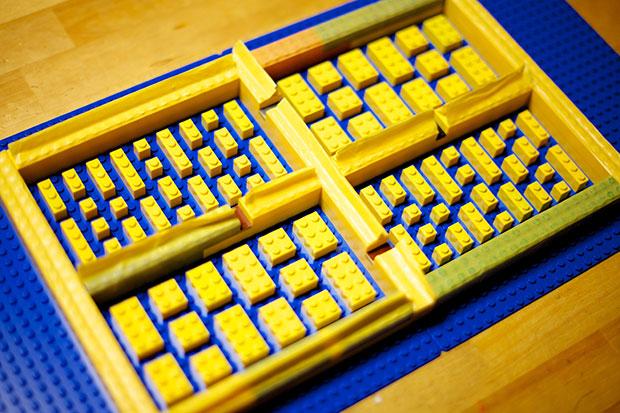 แม่พิมพ์ ช็อกโกแลต เลโก้