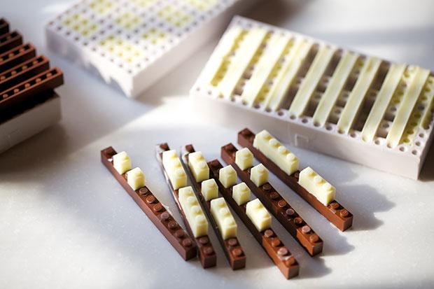 แม่พิมพ์ Chocolate Lego