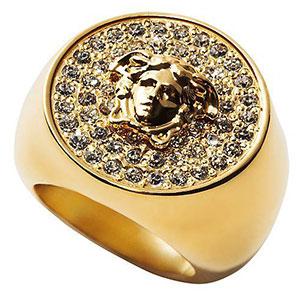 แหวน Versace ทอง