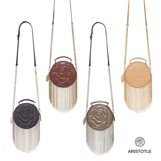 Aristotle Rose Bag - Fringie
