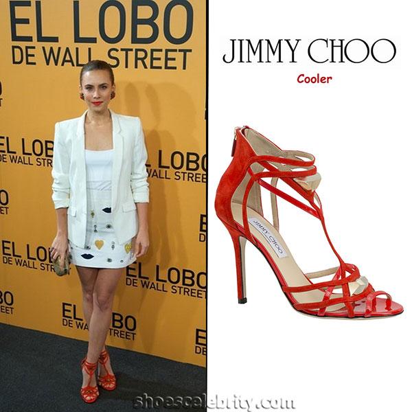 Aura Garrido - รองเท้า Jimmy Choo