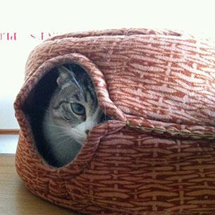 DIY ที่นอนแมว