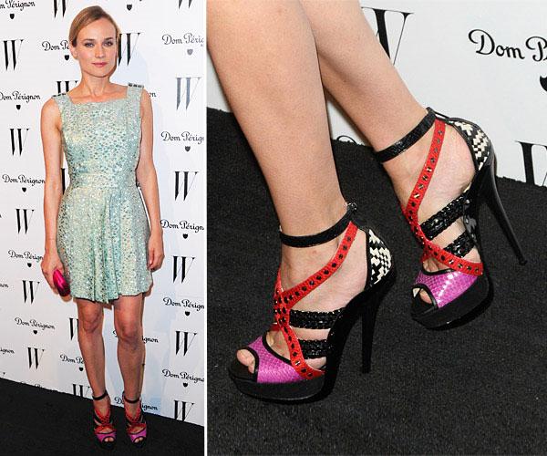 Diane Kruger - รองเท้า Jimmy Choo