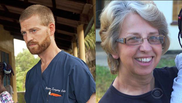 Dr. Kent Brantly และ Nancy Writebol