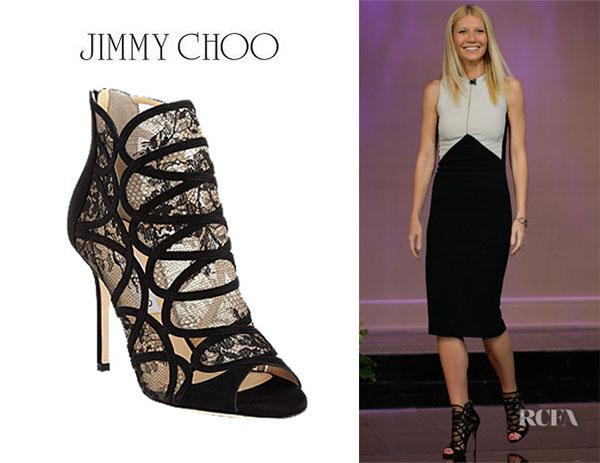 Gwyneth Paltrow - รองเท้า Jimmy Choo