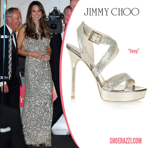 Kate Middleton - รองเท้า Jimmy Choo