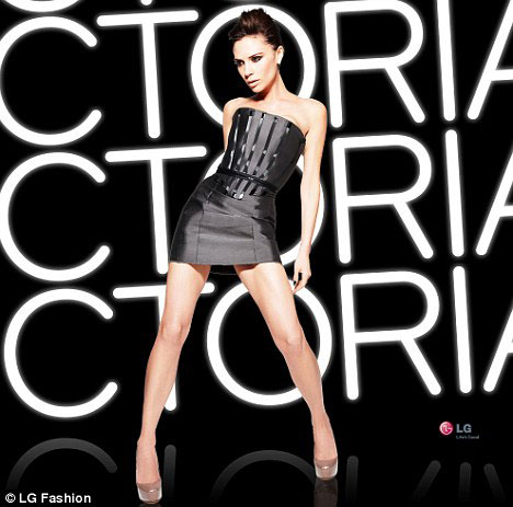 LG Fashion Touch Phones - Victoria Beckham