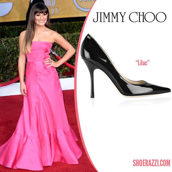 Lea Michele - รองเท้า Jimmy Choo