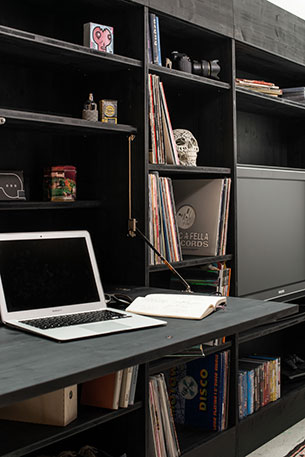Living Cube โต๊ะแบบพับได้