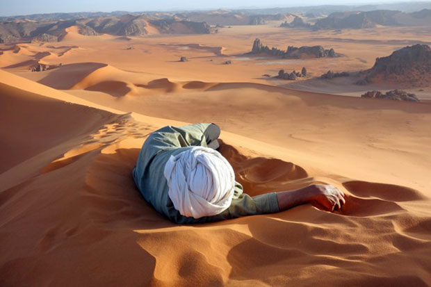 National Geographic Photo Contest 2014 Merit Prize - A Well Earned Rest in the Sahara