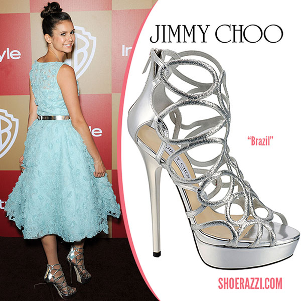 Nina Dobrev - รองเท้า Jimmy Choo