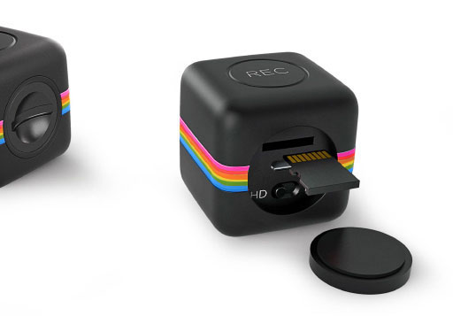Polaroid Cube - Micro SD