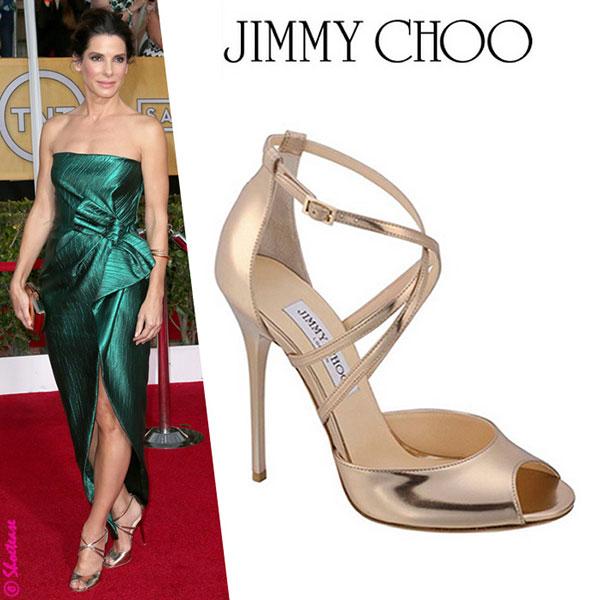 Sandra Bullock - รองเท้า Jimmy Choo