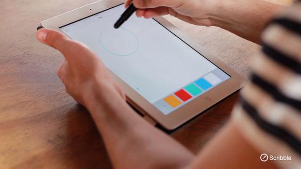 Scribble ปากกาดูดสี เขียนบน ไอแพด