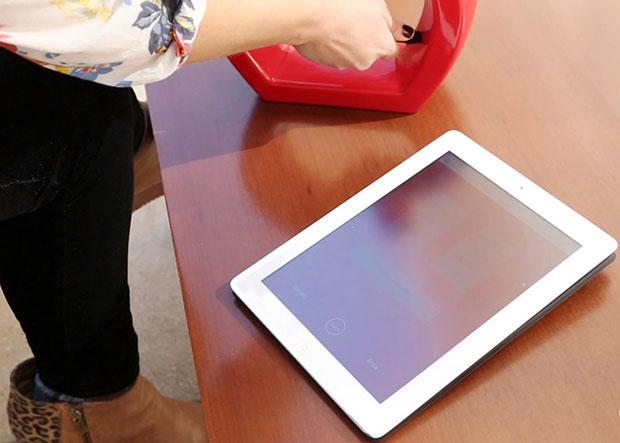 Scribble ปากกาดูดสี เขียนบน Tablet