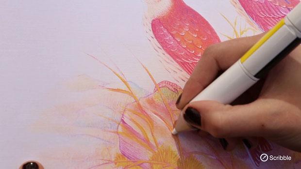 Scribble ปากกาดูดสี เขียนได้ทุกสี