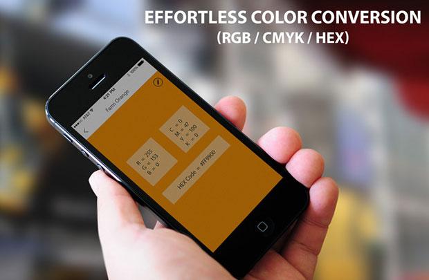 Scribble ปากกาดูดสี แปลงสี RGB CMYK HEX